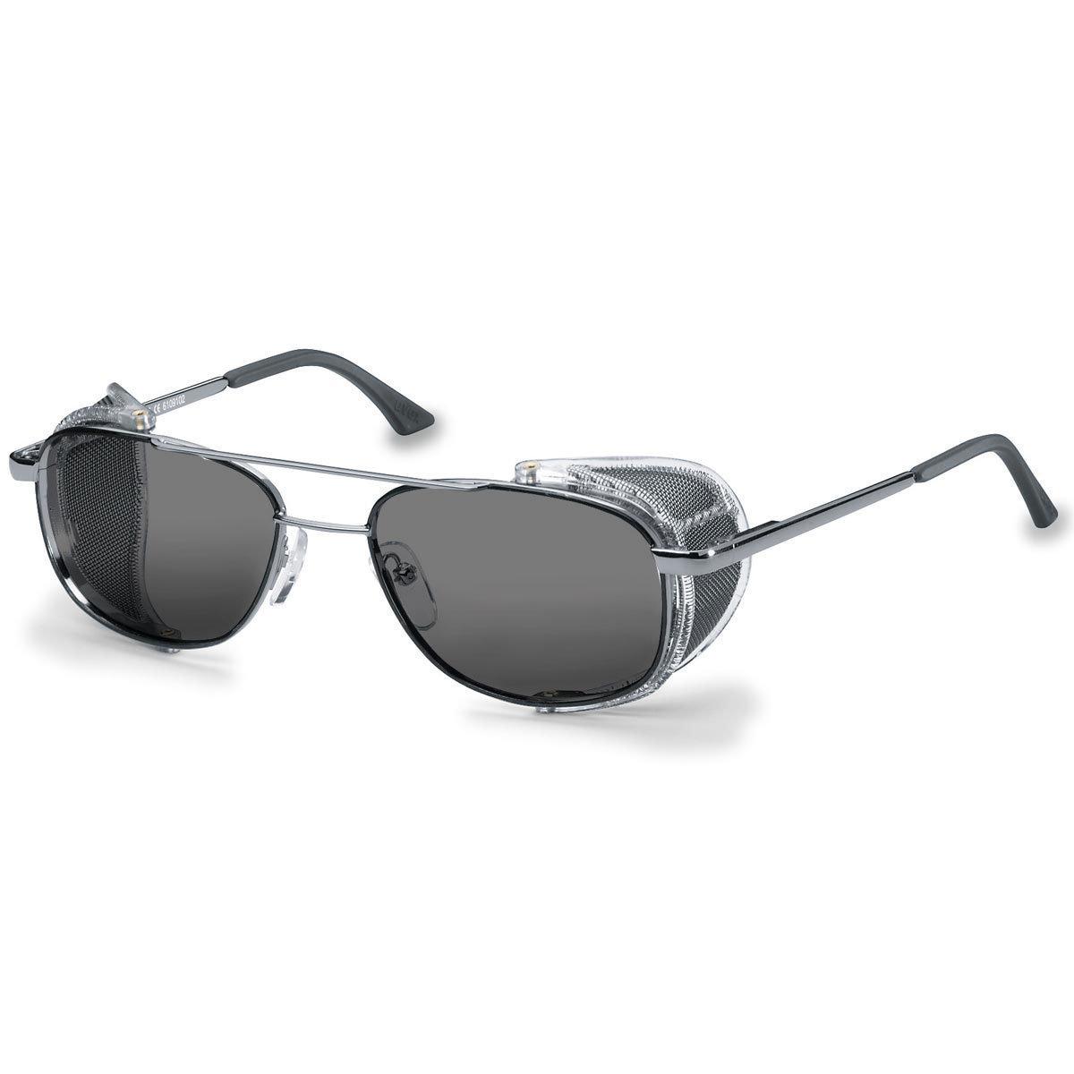 Uvex Korrektionsschutzbrille RX 5101 - grau getönt
