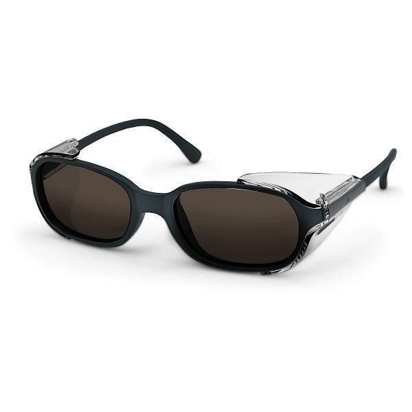 Uvex Korrektionsschutzbrille RX 5503 - braun getönt