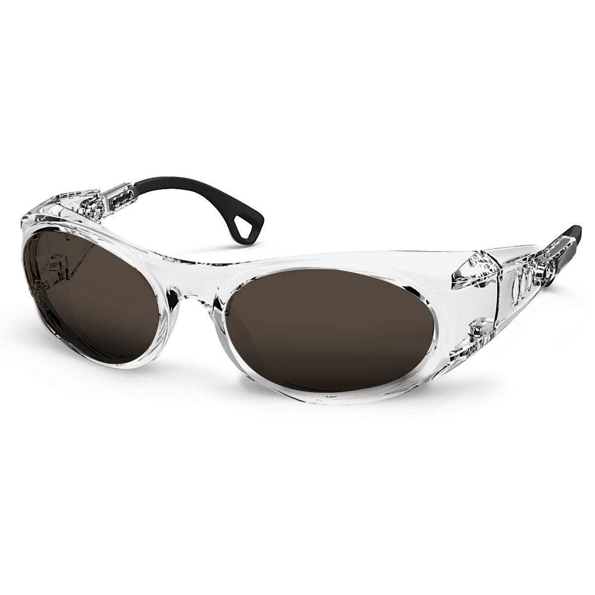 Uvex Korrektionsschutzbrille RX cd 5505 transparent - braun getönt