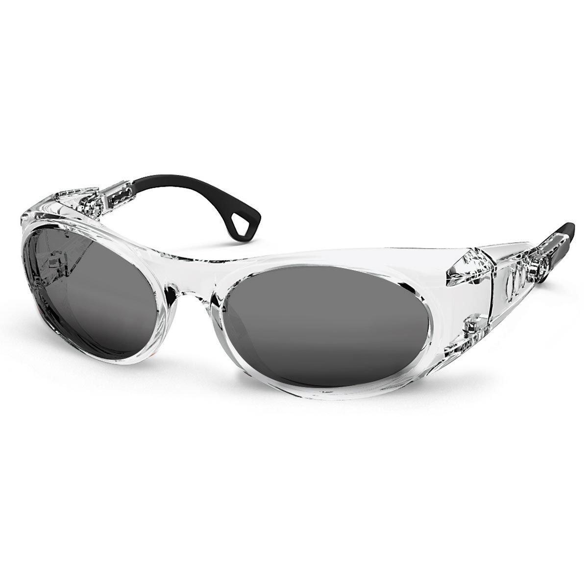 Uvex Korrektionsschutzbrille RX cd 5505 transparent - grau getönt