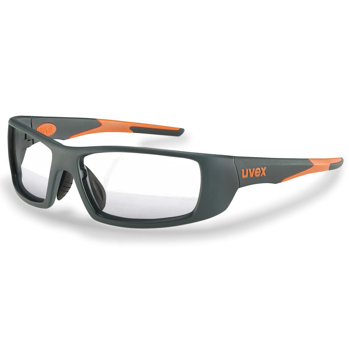 Uvex Korrektionsschutzbrille RX sp 5512 orange - UV blue protect